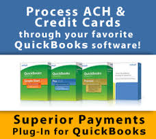 QuickBooks Plug In online merchant services