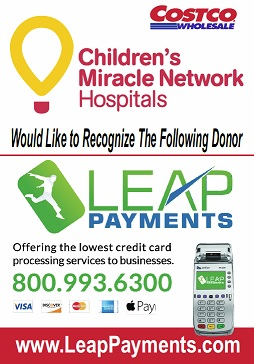 Leap proudly supports childrens miracle network leap payments leap payments credit card offer colourmoves