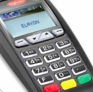 Bright Color Screen Ict250 Credit Card Machine