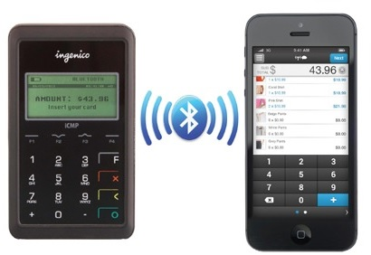 Converge Ingenico Icmp Mobile Emv Card Reader Leap Payments