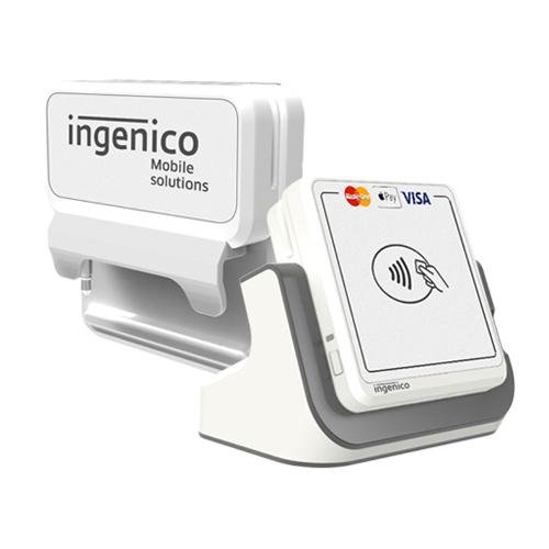 New Ingenico RP457c Mobile Reader White