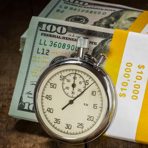 $10,000 & Stopwatch