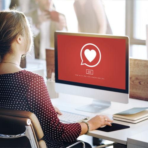 Online dating merchant account