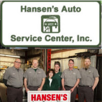 Hansen's Auto Service Center Logo