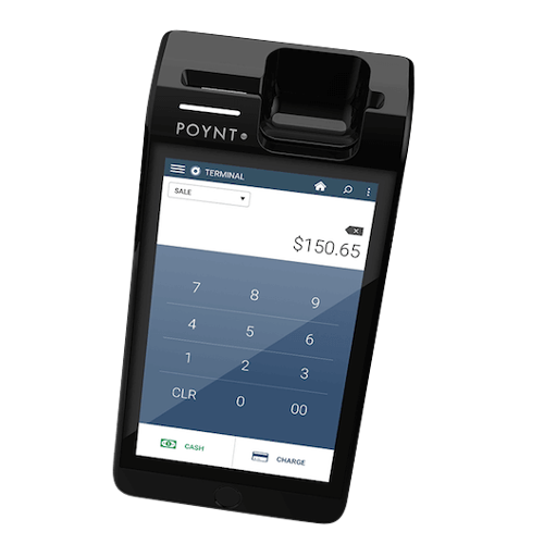 Poynt 5 Camera Scanner Card Swiper