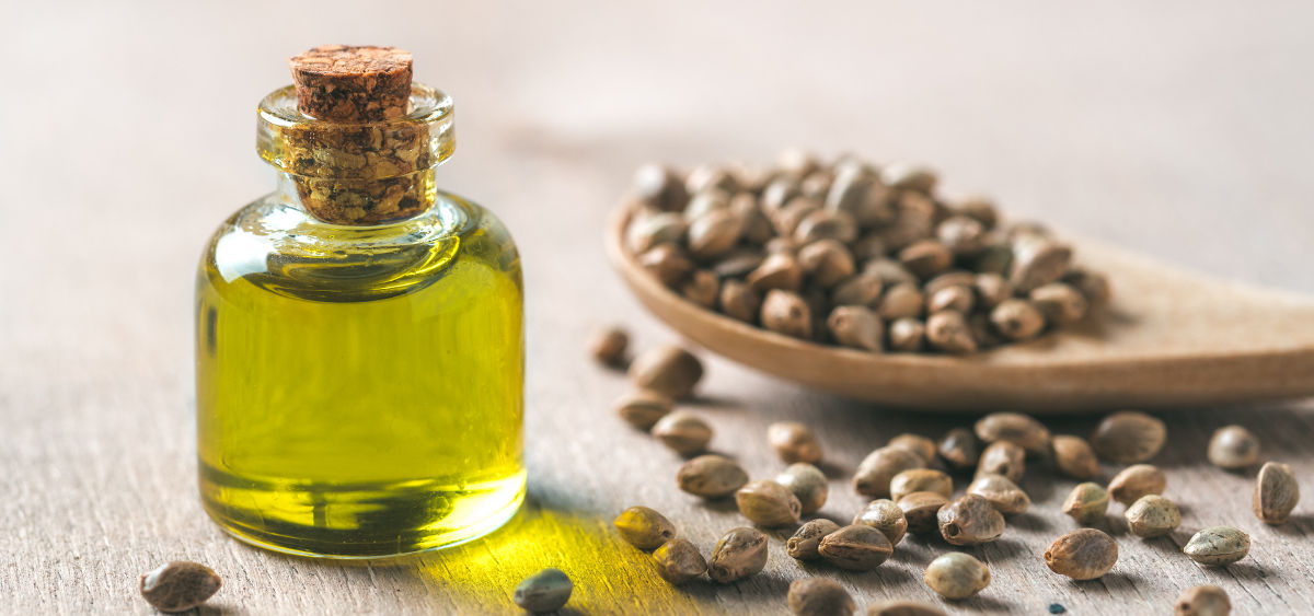 CBD Tincture Hemp Seed Extract in Jar