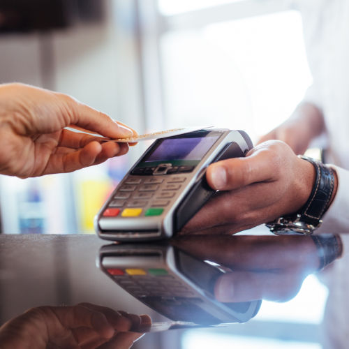 high risk business list contactless payments