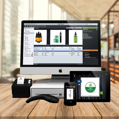 CBD Point of Sale System for Credit Cards