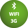 Bluetooth WiFi 3G Terminal Connections