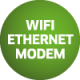 WiFi Ethernet Modem Terminal Connections